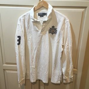 Vintage Polo by Ralph Lauren rugby polo shirt xl